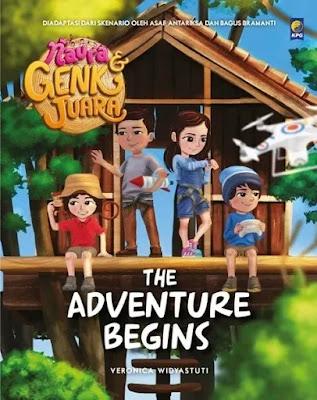 Buku anak Naura & Genk Juara