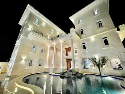 Obi Cubana's mansion