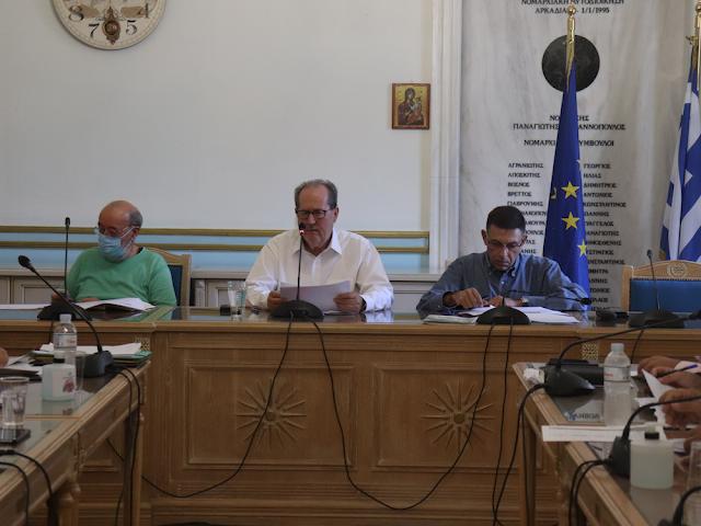 Σύσκεψη Νίκα με τους αντιπεριφερειάρχες για έργα του νέου ΕΣΠΑ