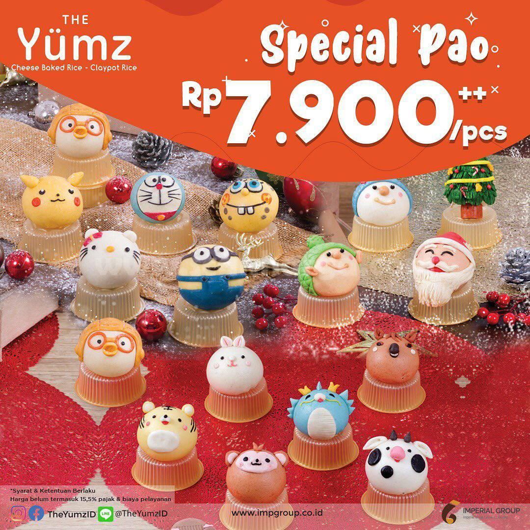 Promo THE YUMZ SPECIAL PAO ! Harga diskon hanya Rp. 7.900++