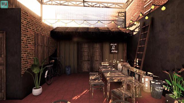 Thi công quán cafe rẻ đẹp nhất Thủ Dầu Một