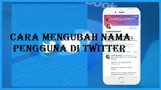 Cara mengubah nama pengguna di Twitter begini mudahnya