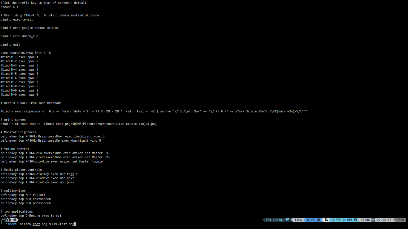 Terminal Application that I use | Window Manager for Linux