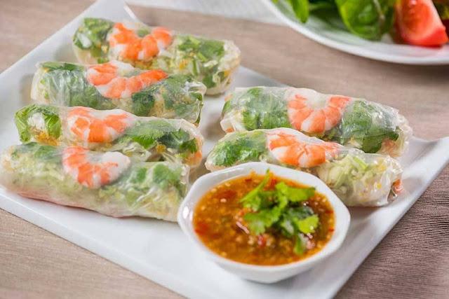 Resepi Popia Vietnam Dengan Sos Pedas
