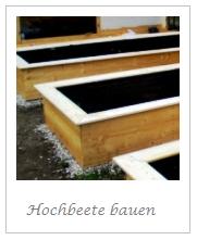 Hochbeete bauen