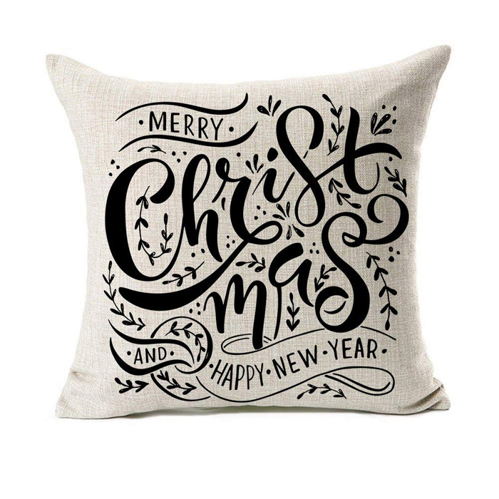 Christmas New Year Pillow