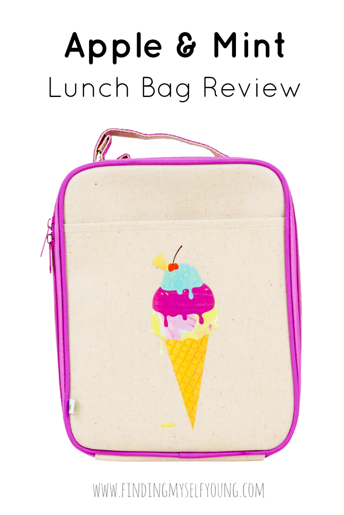 Apple and Mint insulated lunch box for kids review