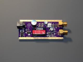 Placa do amplificador de potência OpRF.