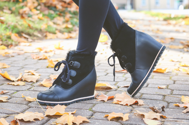 ugg waterproof wedge booties