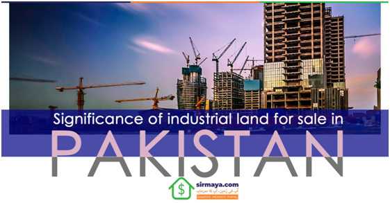 Industrial Land for sale in Pakistan