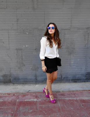 modelos de Zapatos Violeta