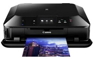 amongst fashionable pattern in addition to repose of role amongst an intuitive impact controls Canon Pixma MG7150 Printer Driver Download