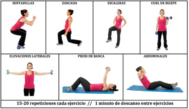 cuerpo saludable: Rutinas de ejercicios para principiantes