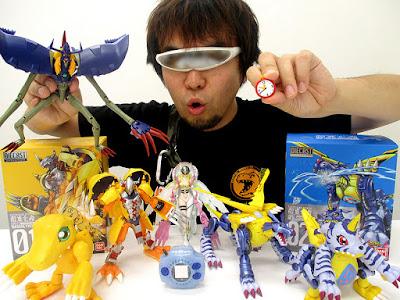 Nishizawa, encargado de la línea Digivolving Spirits