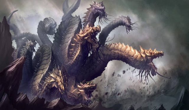 Hydra, Ular Berkepala Banyak dengan Darah dan Nafas yang Sangat Beracun