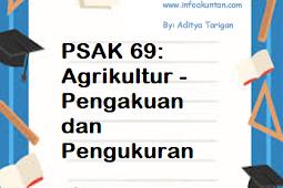 PSAK 69: Agrikultur - Pengakuan dan Pengukuran