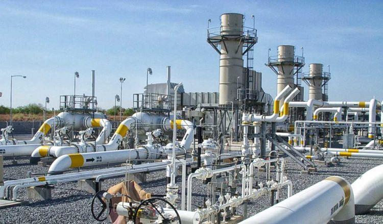 Estación de distribución y transporte de gas natural