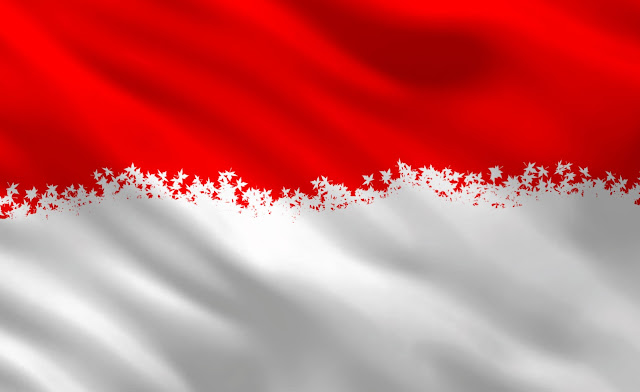 Bendera merah putih wallpaper