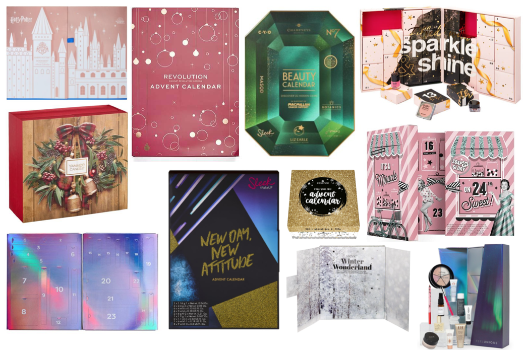 Beauty Advent Calendars Under £45