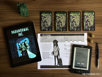 Paranormal Inc. - Actual Play