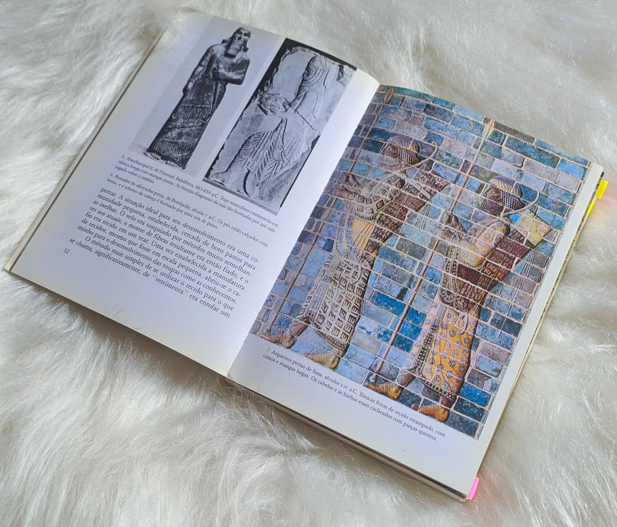 Livro A Roupa e a Moda