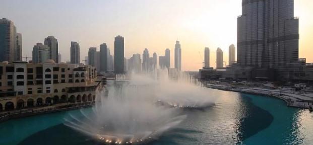 بحيرة برج خليفة