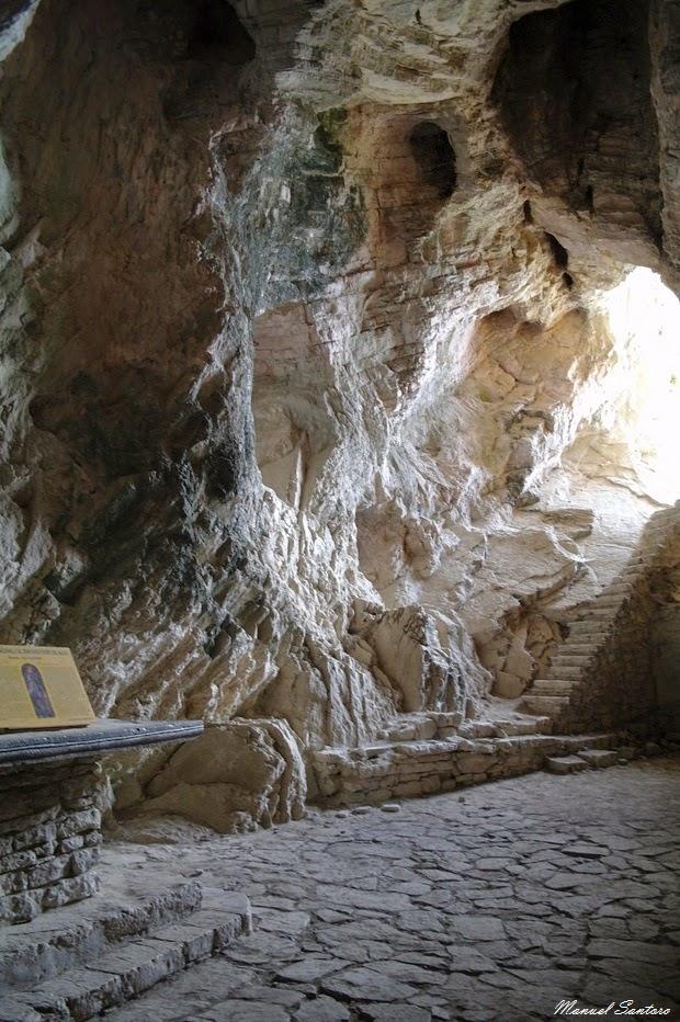 Ripe di Civitella, Grotta S. Angelo