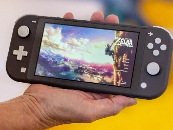 Sorteio do Nintendo Switch Lite + jogo