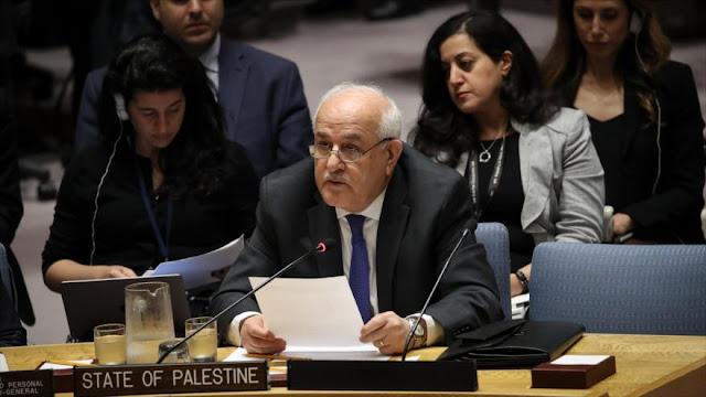 Palestina censura 'increíbles' palabras de Haley en apoyo a Israel