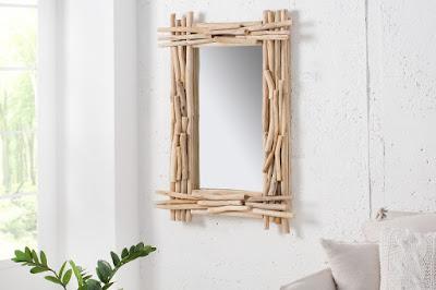 zrkadlá Reaction, nábytok z dreva, masívny nábytok