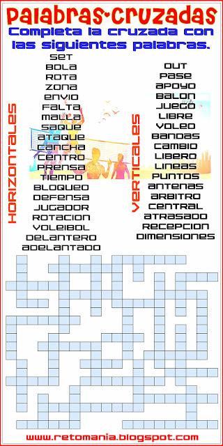 Desafíos matemáticos, Retos matemáticos, Problemas matemáticos, Problemas de matemáticas,  Cruzadas, Cruza-Palabras, Palabras cruzadas, Cruzada matemática