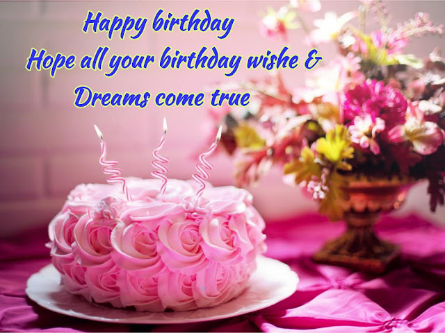 Birthday Wishes in English