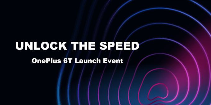 Unlock The Speed - OnePlus 6T Launch Event