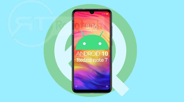 تحديث Android 10 المستقر لـ Redmi Note 7 Pro [مع رابط التحميل ]