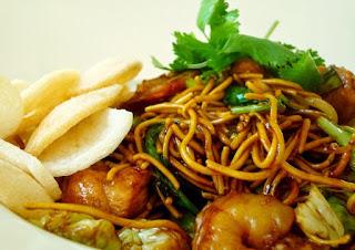Cara Masak Mie Goreng Seafood