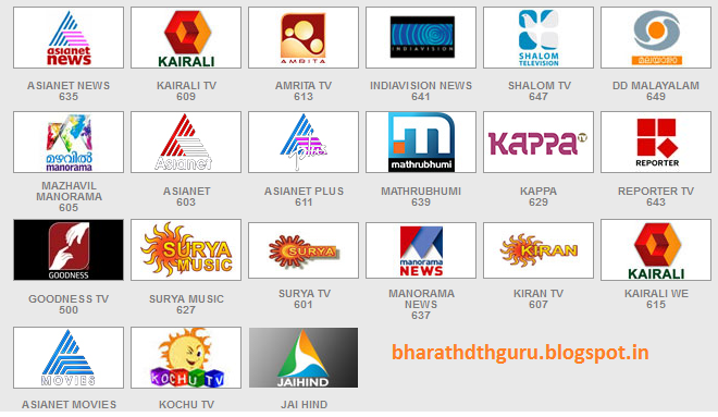 BharathDTHGuru: Which dth has more malayalam channels ?