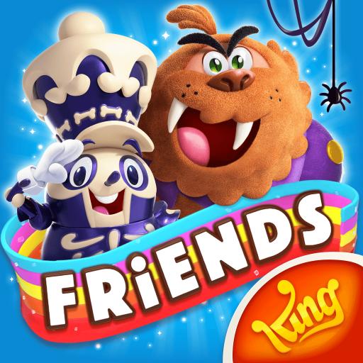 Candy Crush Friends Saga v1.24.6 .apk [Mod/Vidas ilimitadas]