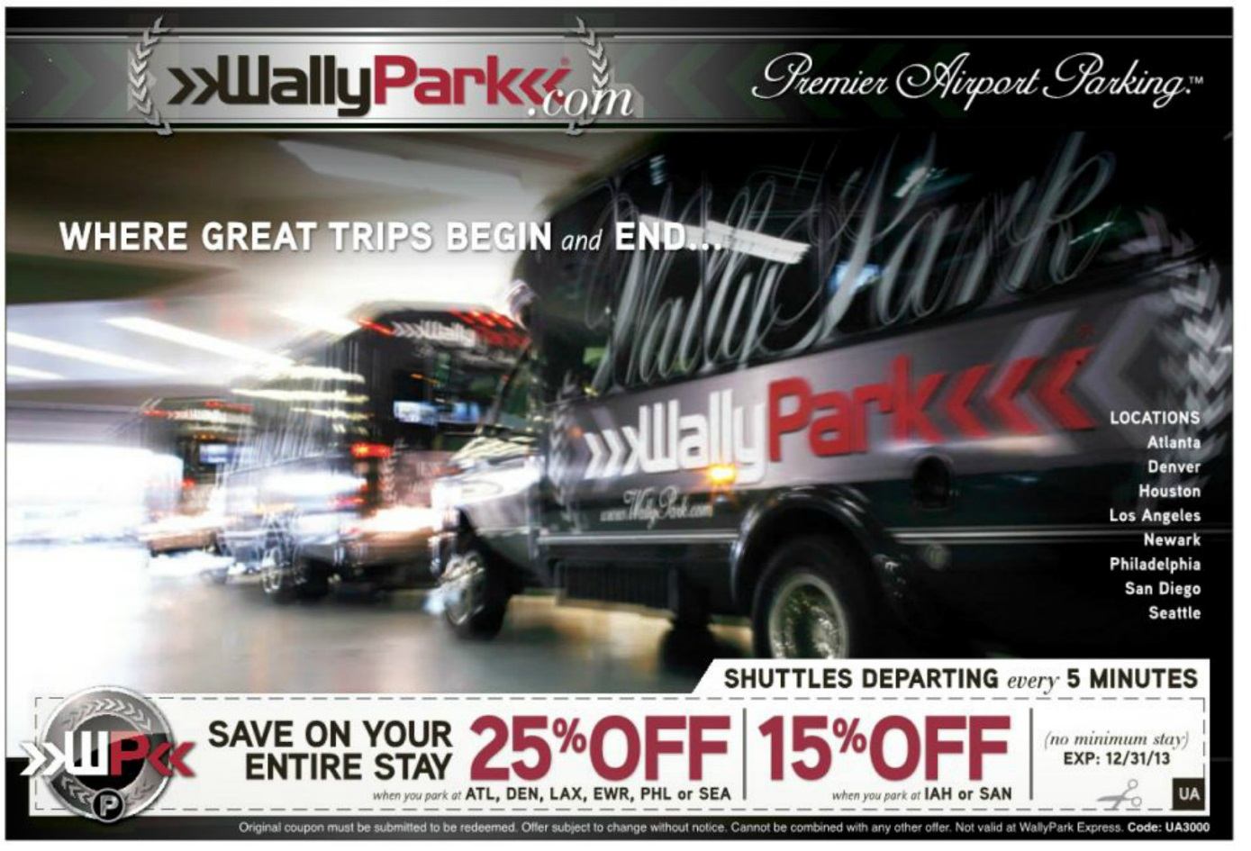 Wallypark lax discount coupon
