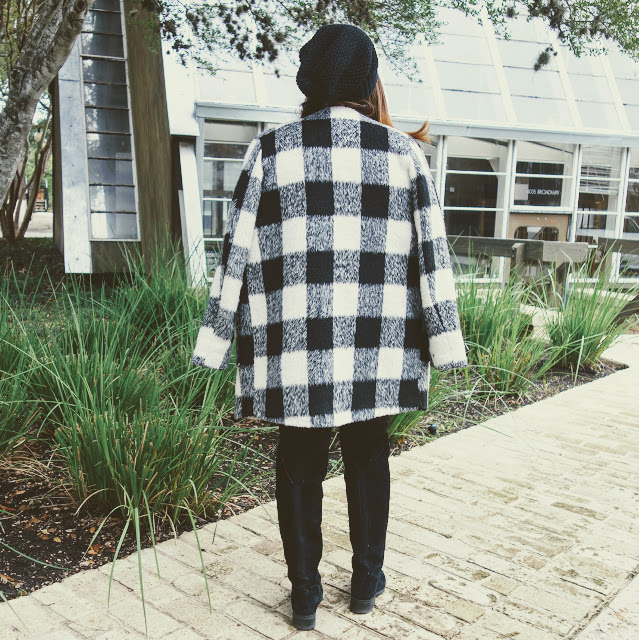 Plaid Coat Outfit