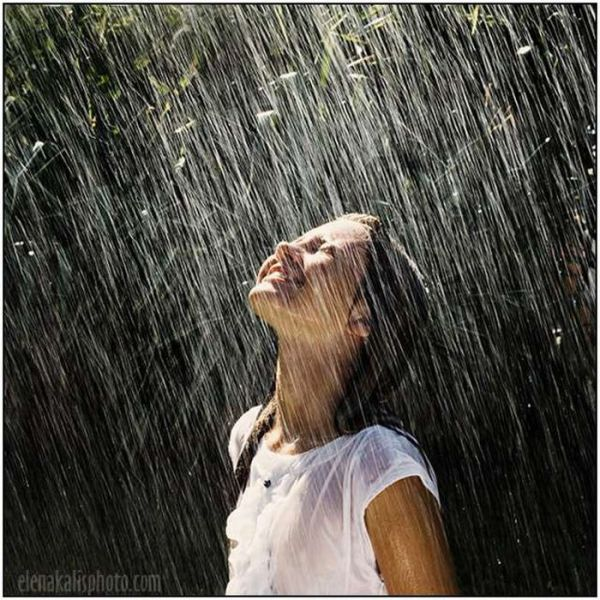 Lonely Girl Feeling Happy in the Rain | I'm So Lonely...