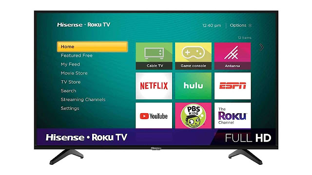 HisenseClass H4 Series LED Roku Smart TV
