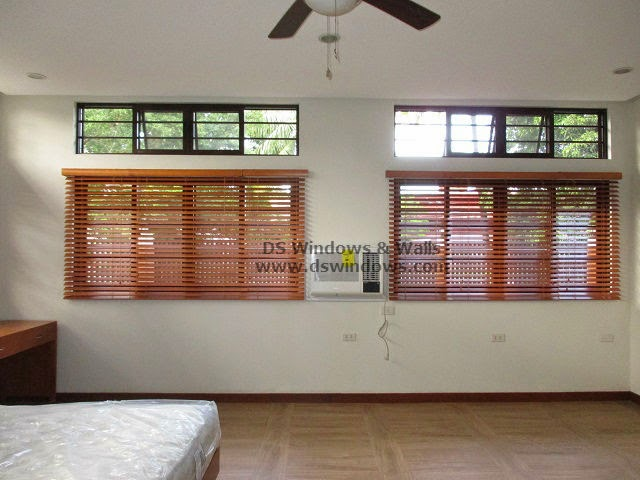 Wooden Blinds For Master's Bedroom  - Marikina City, Metro Manila
