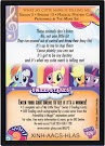 MLP What My Cutie Mark Is Telling Me Series 3 Trading Card