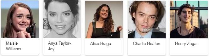 The New Mutants 2018 Movie Star Cast