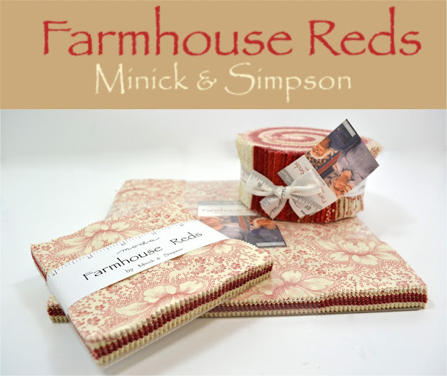 Farmhouse Reds by Minick & Simpson for Moda