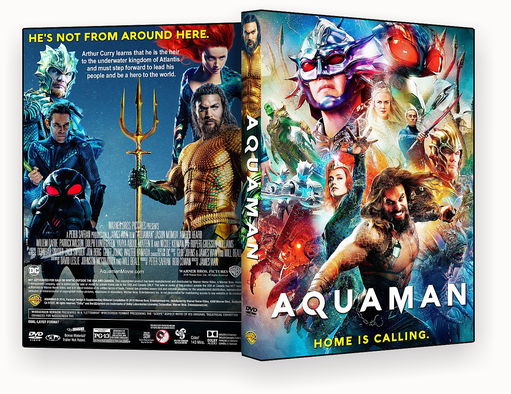 CAPA DVD – Aquaman-DVD-R 2018 – ISO – CINEMA