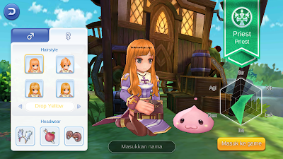 Karakter Priest Ragnarok Mobile Eternal Love