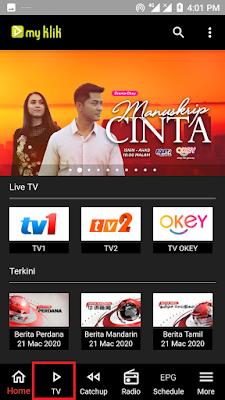 how install rtm mobile live internet tv streaming app-3