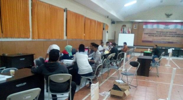 Hari Keempat Pendaftaran DPD, 12 Pendaftar Mendapat TT