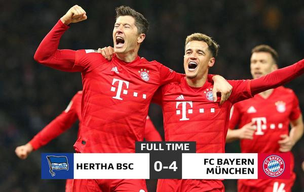 Hertha Bayern 2021
